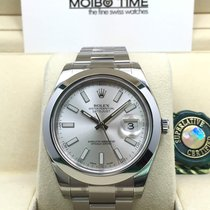 勞力士 (Rolex) Datejust II Silver Index Dial Smooth Bezel 41mm [NEW]