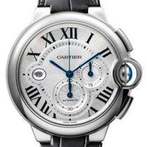 カルティエ (Cartier) Ballon Bleu / Chronograph / Leather Strap /...