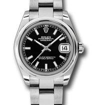 Rolex Unworn 178240 DateJust 31mm in Steel with Domed Bezel -...