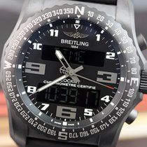 Breitling Men's Cockpit B50 Night Mission Black Titanium...