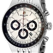 Breitling Montbrilliant 47 chronograph, Stainless steel Sapphire
