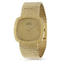 Piaget Dress 12421 A6 Vintage Unisex Watch in 18K Yellow Gold