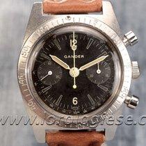 Gander Vintage Military Waterproof-style Cteel Chronograph...