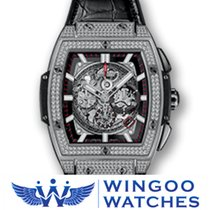 Hublot SPIRIT OF BIG BANG TITANIUM PAVÉ Ref. 601.NX.0173.LR.1704