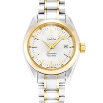 Omega Women's 2377.30.00 Seamaster Aqua Terra Quartz Watch...