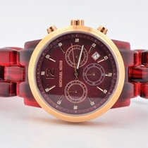 Michael Kors Audrina Amber Chronograph Watch Mk-6237 42mm