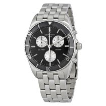 Certina DS First Black Dial Men's Chronograph Watch