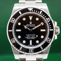 Rolex 114060 Submariner No Date Ceramic Bezel SS (27020)