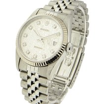 Rolex Used 16234 Mens Steel Datejust with Jubilee Bracelet -...