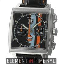 Ταγκ Χόιερ (TAG Heuer) Monaco Chronograph Gulf Steve McQueen...