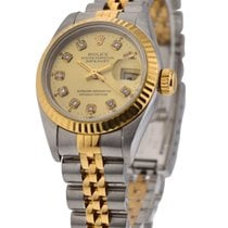 Rolex Used 69173_used_champ_dd Ladys 2-Tone Datejust with...