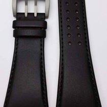 Davosa Titanium Lederband schwarz 24/22mm 21046