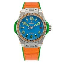 Hublot Big Bang One Click Pop Art Steel Orange 39 mm