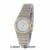 Omega Constellation Diamond Bezel Full Bar 18K Yellow Gold 22MM