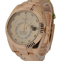 Rolex Unworn 326935_rose_roman Sky Dweller 42mm in Rose Gold...