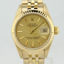 Rolex Oyster Perpertual Datejust Automatic Gold Lady 69178