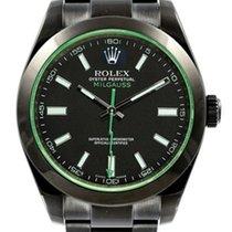 Rolex Milgauss 116400GV  DLC-PVD