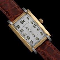 IWC 1929 Vintage Art Deco Massive 43mm Mens Wristwatch - 18K Gol