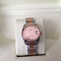 Rolex Midsize 18k Rose/ss Oyster Perpetual Datejust 31mm...