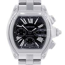 Cartier 2618 Roadster XL Black Chronograph Dial Watch