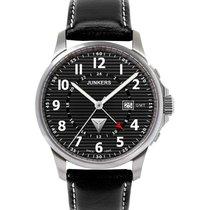 Junkers Tante Ju 6848-2 Quartz Watch Swiss Ronda Movement 100m...