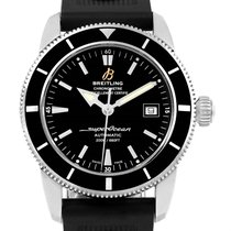 Breitling Superocean Heritage 42 Black Dial Mens Watch A17321