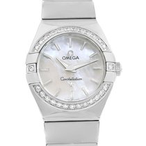 Omega Constellation Mop Diamond Ladies Watch 123.15.24.60.05.0...
