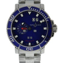 Ulysse Nardin Aqua Perpetual Stainless Steel Blue Dial On...