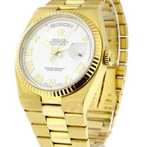 Rolex Used 19018wr Quartz President Day-Date - Yellow Gold -...