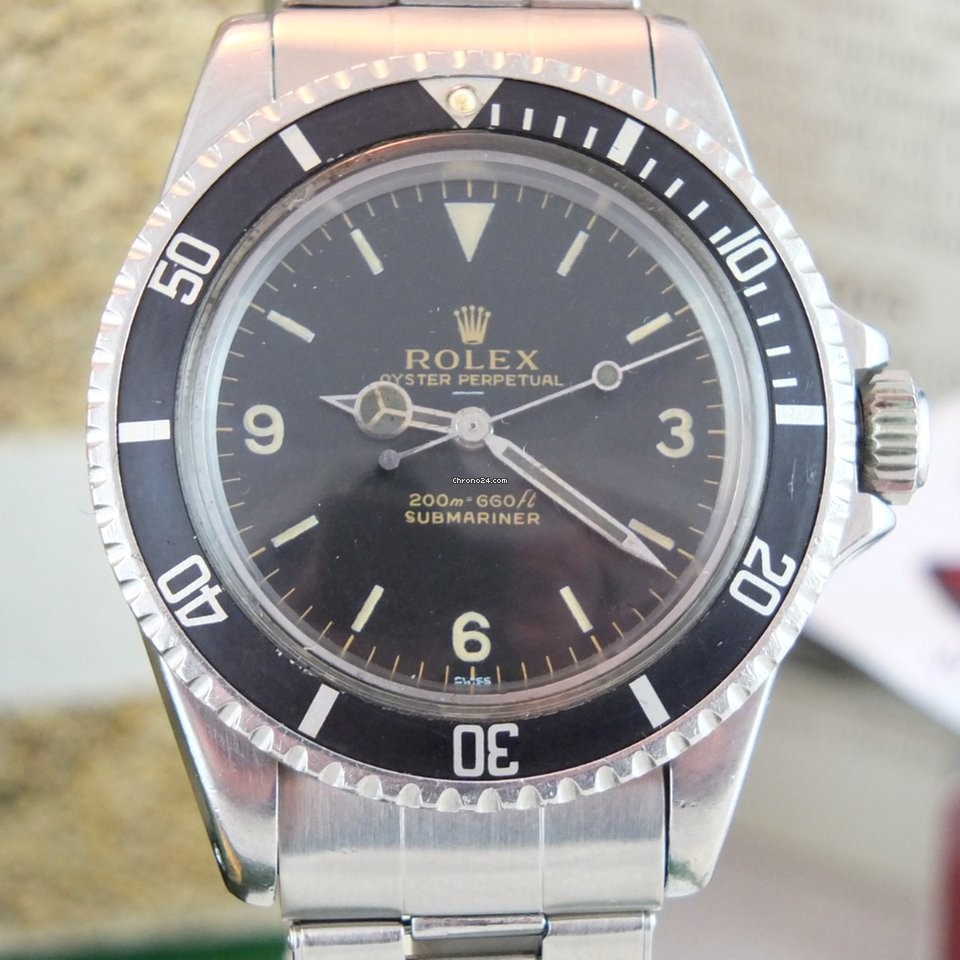 rolex submariner 5513 gilt explorer meters first vendre pour prix sur demande par un. Black Bedroom Furniture Sets. Home Design Ideas