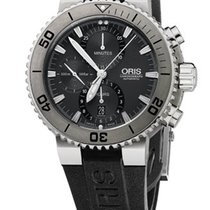 Oris Aquis Titan Chronograph | Grau Schwarz