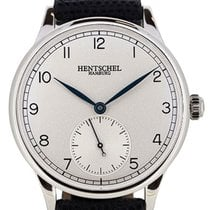 Hentschel Hamburg H1 Chronometer White Gold / Steel, 37mm