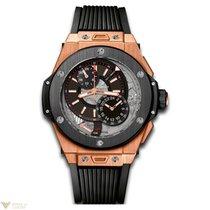 Hublot Big Bang 45 мм Alarm GMT 18K King Gold Men's Watch