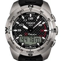 Tissot T-Touch Expert Titanium Caucciù Carbon Black Dial 43,6mm T