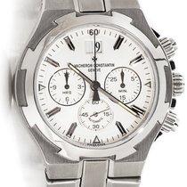 Vacheron Constantin Overseas Chrono Silver Dial 49140