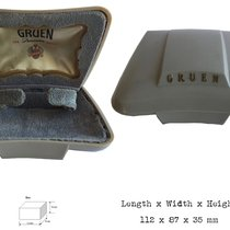 Gruen box for ladies wristwatch