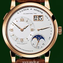 A. Lange & Söhne Lange 1 Moonphase 18k Rose Gold Manual...