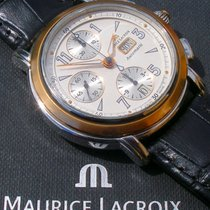 Maurice Lacroix Masterpiece Chronograph Croneo; Stahl-/18K-Mas...