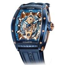 Cvstos Challenge Gt Sea-Liner Blue Steel & Rose Gold