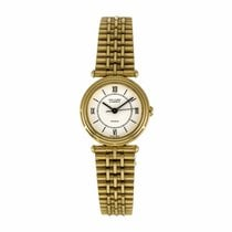 Van Cleef & Arpels Ladies 18K Yellow Gold Quartz Watch...
