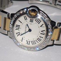 Cartier Ballon Bleu 18K Gold Diamonds