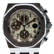 Audemars Piguet Royal Oak Offshore Safari 42mm Ivory Brown...