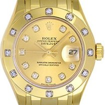 Rolex Ladies Masterpiece/Pearlmaster Watch 80318 Champagne Dial