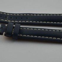 Breitling Leder Armband Band 20mm 20-18 Für Dornschliesse Blau