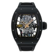 Richard Mille Rafel Nadal Black Toro TZP Rose Gold