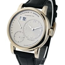 A. Lange & Söhne 320.025 Lange 1 Daymatic in Platinum - on...