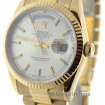 Rolex Day Date 118238 D 18K Yellow Gold Mens Watch