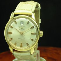 Longines Conquest 18kt 750 Gold Automatic Herrenuhr Ref L1 611...