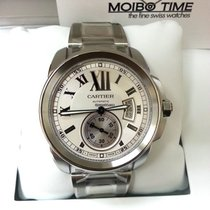 Cartier Calibre de Cartier Steel Automatic White Dial [NEW]
