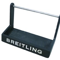 Breitling Display Catalogue Holder Metal Authentic